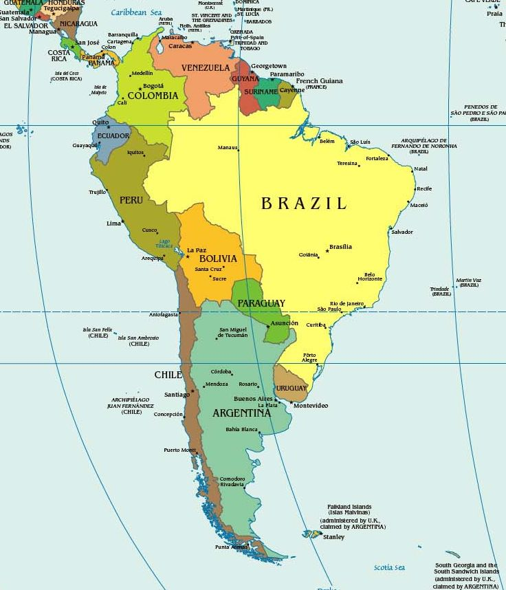 Мальвинские острова чили и эквадор